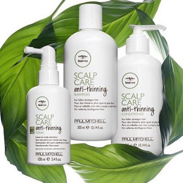 Новая система Tea Tree Scalp Care.